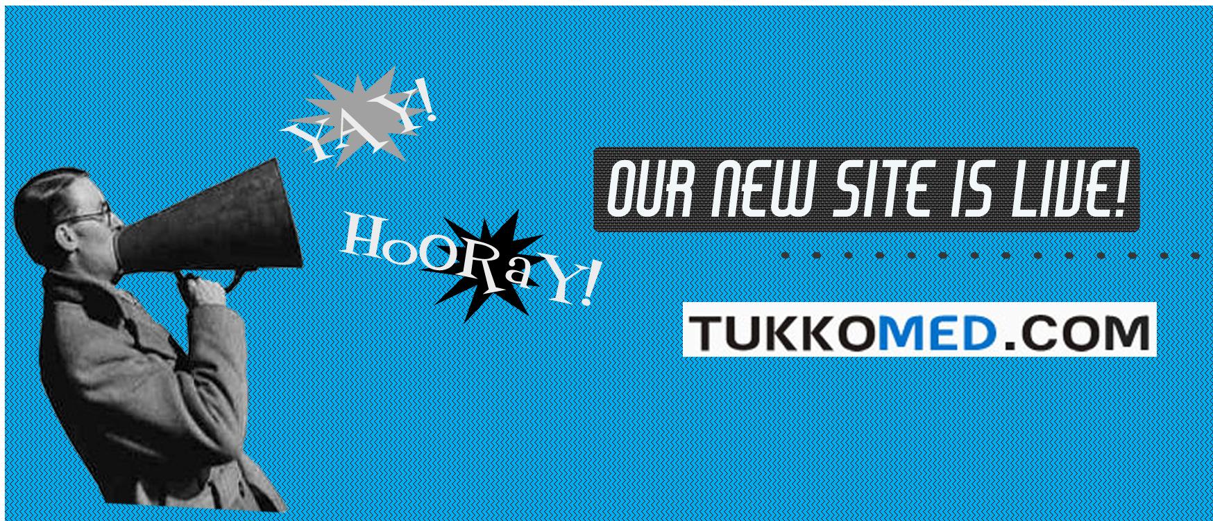 Newly Designed Website Announcement